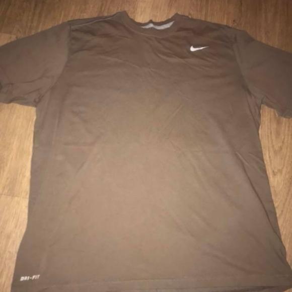 Poshmark Shirt Nike Shirts Brown Fit Dri R8v1R